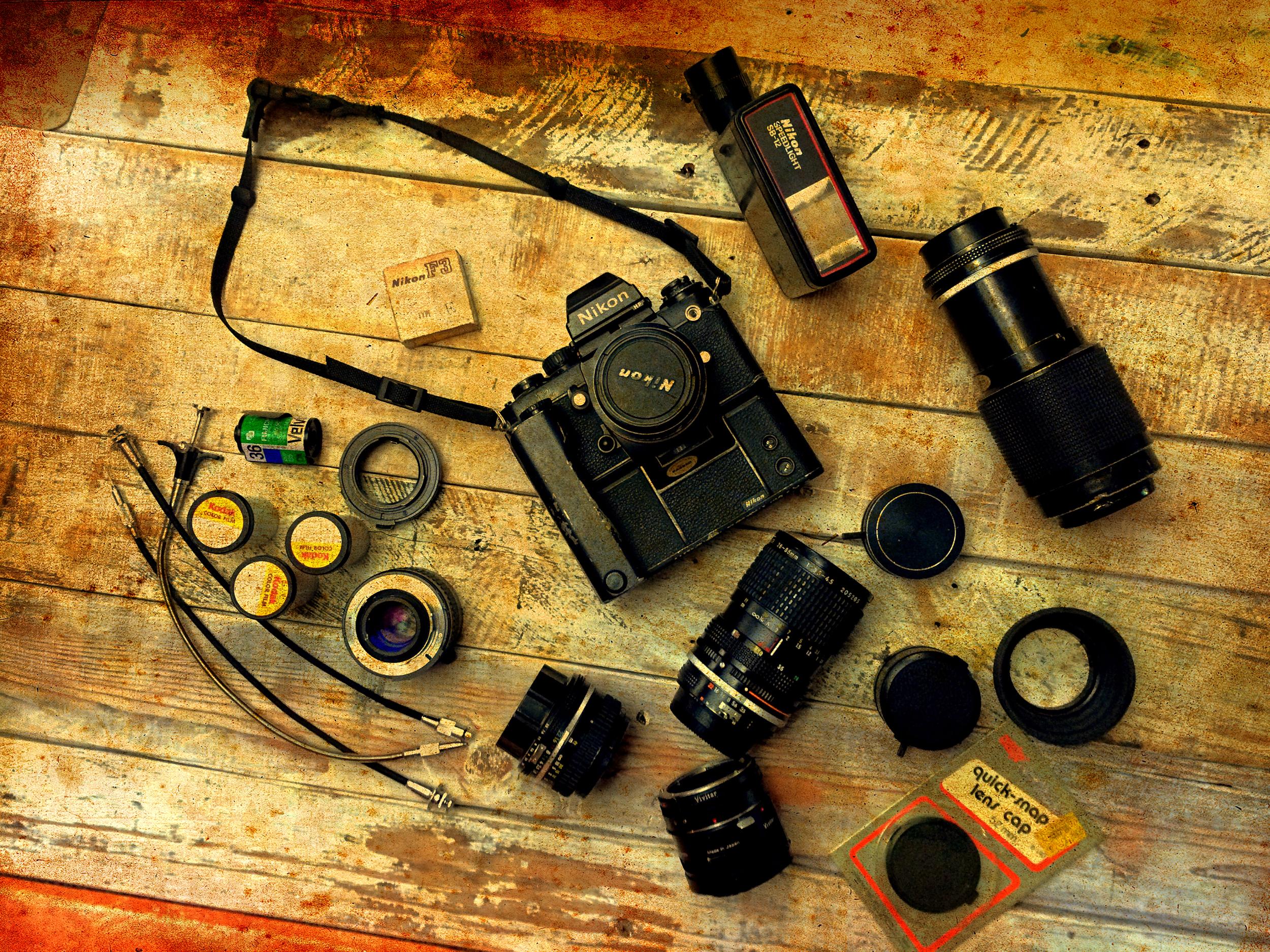 Nikon F3- back in the film days